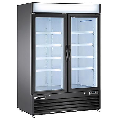 Maxxium X-Series Merchandiser Refrigerator with Glass Door (48 cu. ft.)