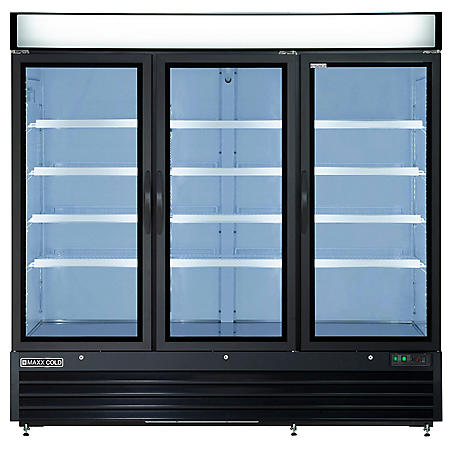 Maxxium X-Series Merchandiser Refrigerator with Glass Door (72 cu. ft.)
