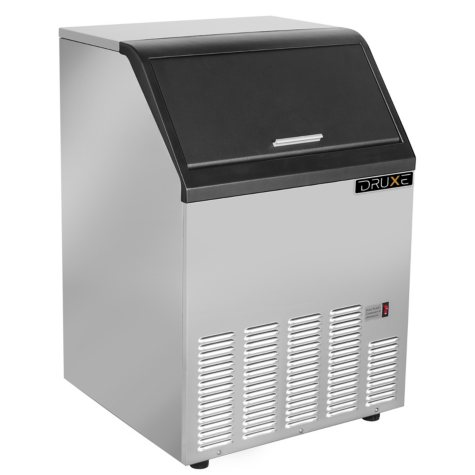 Druxe Freestanding Icemaker in Stainless Steel (120 lbs.)