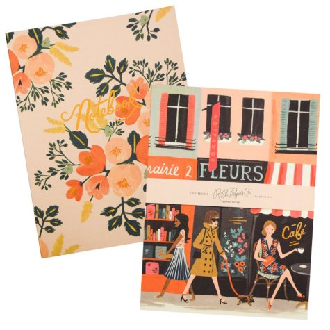 Rifle Paper Co. Everyday Notebook Set, Parisian