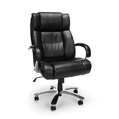 OFM Avenger Series Big U0026 Tall Executive Chair, Black (Supports Up To 500 Lbs
