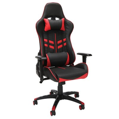 Essentials By OFM Racing Style Gaming Chair, Model ESS 6065, Choose A Color