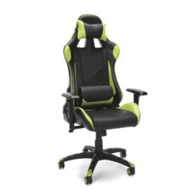 Ofm Essentials Collection Racing Style Bonded Leather