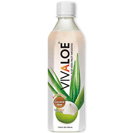 Vivaloe Coconut Aloe Drink (16.9oz / 12pk)