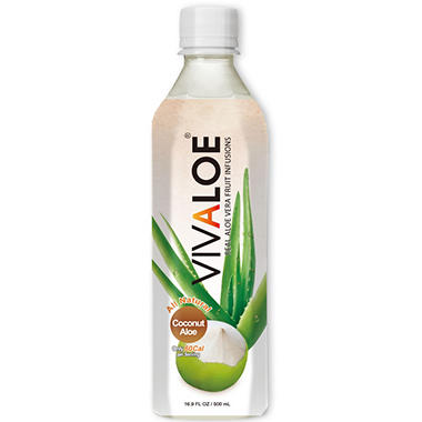 Vivaloe Coconut Aloe Drink (16.9 fl. oz., 12 pk.)