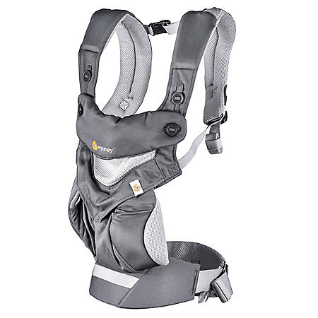 Ergobaby 360 All Positions Baby Carrier Cool Air Mesh (Choose your color)