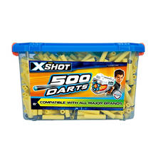 X-Shot: 500-Ct. Foam Tip Bucket of Darts