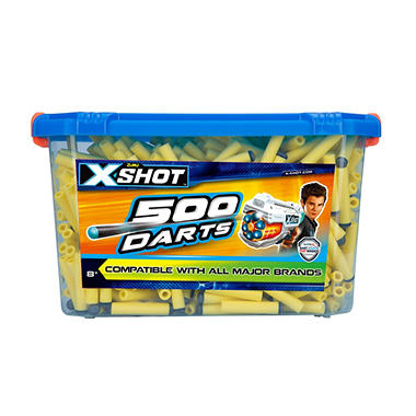 X shot 500 ct foam tip bucket of darts sams club x shot 500 ct foam tip bucket of darts stopboris