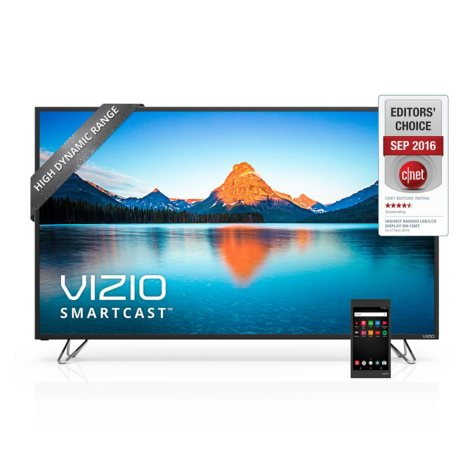 """VIZIO SmartCast 60"""" Class Ultra HD HDR Home Theater Display with Chromecast - M60-D1"""