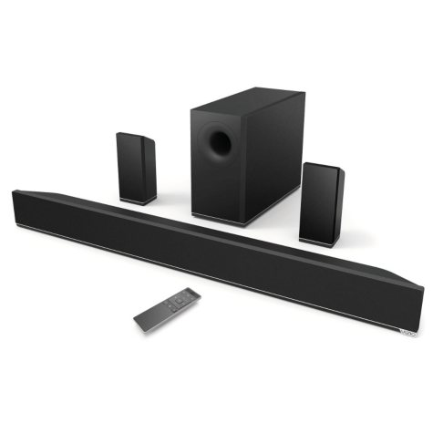 "VIZIO 38"" 5.1 Channel Sound Bar with Wireless Subwoofer & Rear Satellite Speakers - S3851x-C4"