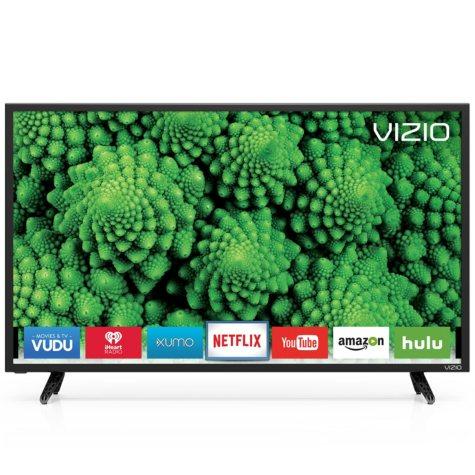 """VIZIO 43"""" Class Full-Array LED Smart HDTV, D43f-E"""