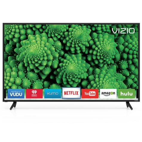 "VIZIO 50"" Class D-series (49.5"" Diag.) Full-Array LED Smart HDTV"