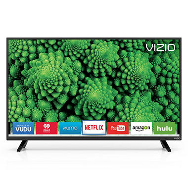 "VIZIO 40"" Class Full-Array LED Smart HDTV, D40f-E1"