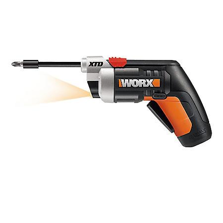 Worx XTD Extended Reach 4V Li-Ion Cordless Screwdriver