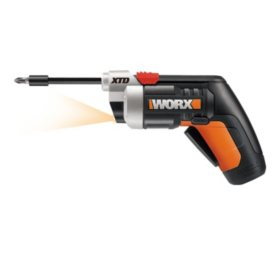 WORX XTD Extended Reach 4V L-Ion Cordless Screwdriver