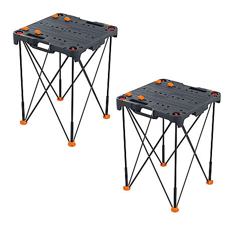 WORX 2 Pack Sidekick Portable Work Table