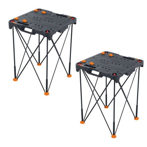WORX WX066 Sidekick Portable Work Table - Pack of 2