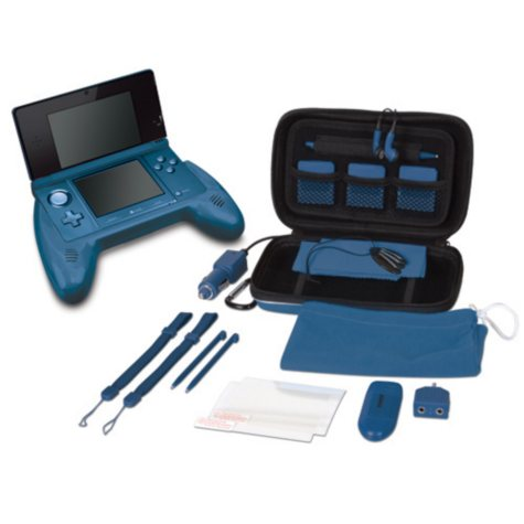 Dreamgear 20-in-1 Essentials for the 3DS - Various Colors