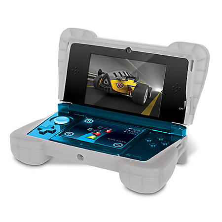 Dreamgear Clear White Comfort Grip for the 3DS