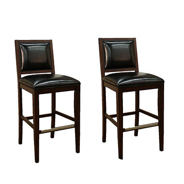 Butler Bar Stool - Toast Leather - 2 pk.