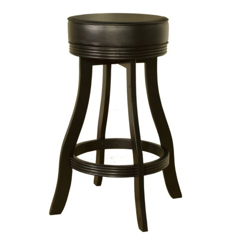 Hampton Bar Stool Black