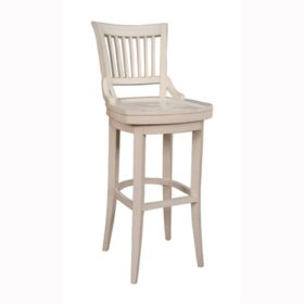 Odin 26 Quot Antique White Counter Stool Sam S Club