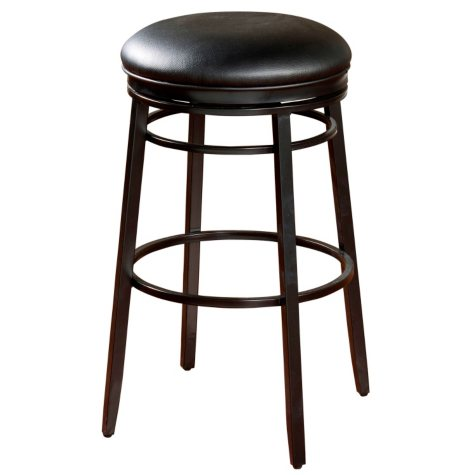 "Baron 30"" Bar-Height Stool - Black"