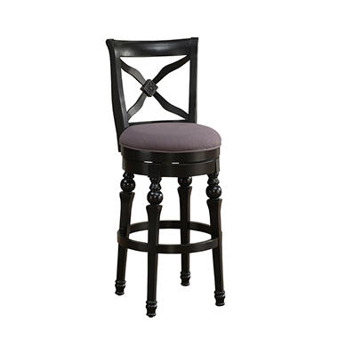 Ashley Stool - Antique Black