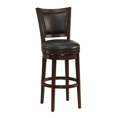 Grace Brown Barstool (Choose Height)