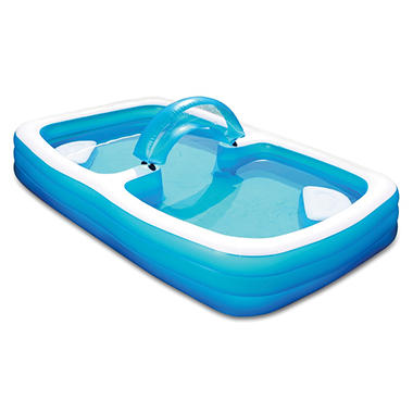 120 summer escapes inflatable family pool sam 39 s club for Quick up pool 120 hoch