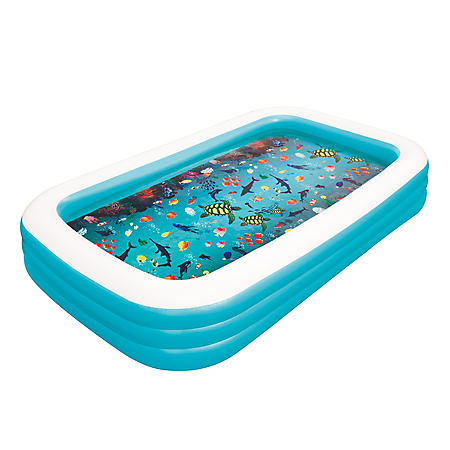 3D Deluxe Family Pool