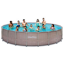 Summer Waves Elite Frame Pool Set, 20' x 48""