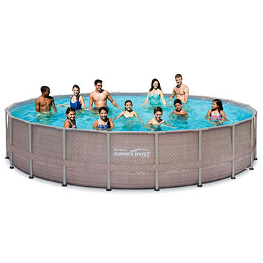Summer Waves Elite Frame Pool Set, 20' x 48