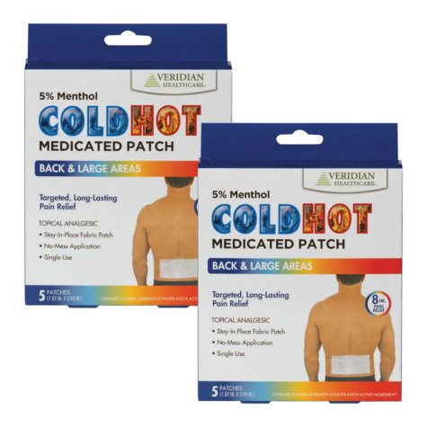 Cold-Hot Medicated Patch (10 pk.)
