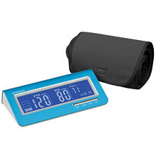 Veridians Metallic Blue Blood Pressure Monitor