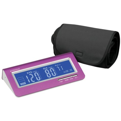 Veridian Metallic Pink Blood Pressure Monitor