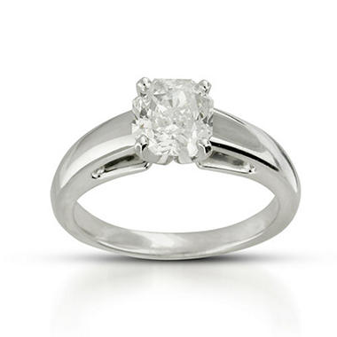 1.72 ct. Radiant-Cut Diamond Ring (H,VS2)