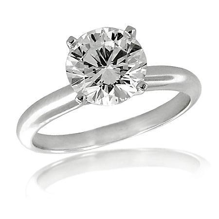 1.01 ct. t.w. Premier Diamond Collection Round Diamond Solitaire Ring (I, VS2)