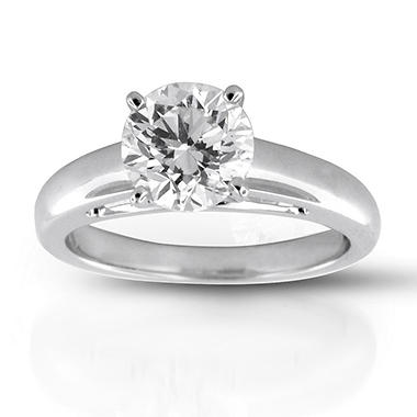 2.13 ct. Premier Diamond Collection Round Diamond Solitaire Ring (I, SI2)