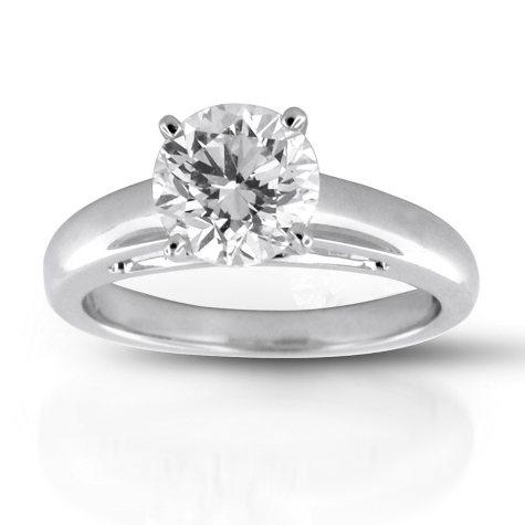 2.13 ct. Premier Diamond Collection Round Diamond Solitaire Ring (I, SI2)