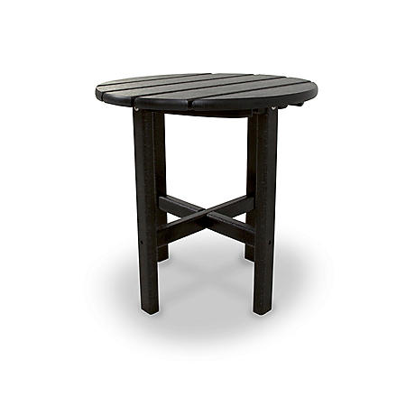 """18"""" Round Side Table by Ivy Terrace (Various Colors)"""