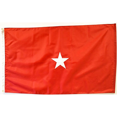 Marine Corps 1 Star General 3' x 5' Nylon Outdoor Flag