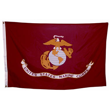 Marine Corps 3' x 5' Nylon Outdoor Flag