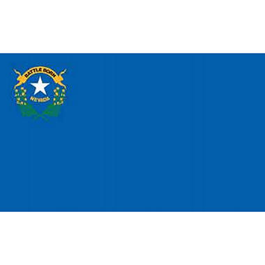 Nevada 3' x 5' Nylon Flag