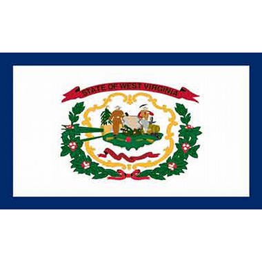 West Virginia 3' x 5' Nylon Flag
