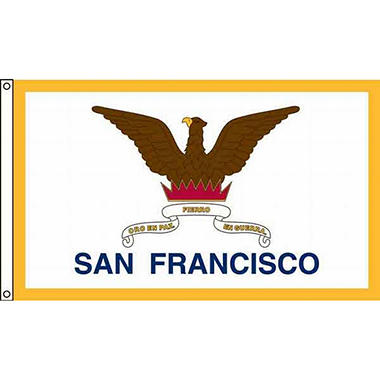 San Francisco 3'X5' Nylon Flag