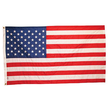 USA 5' x 9.5' Rip Guard Flag