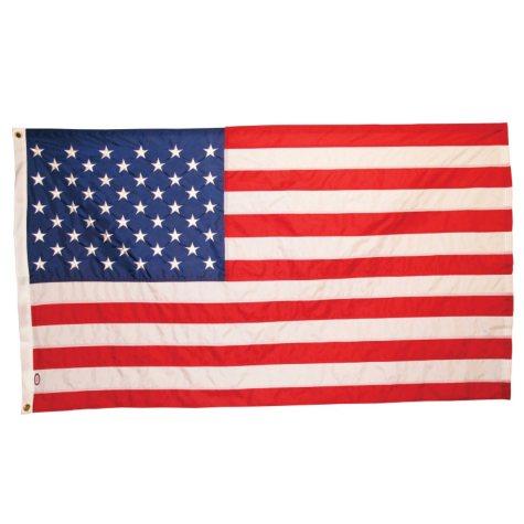 USA 5' x 9.5' Rip Guard Flag