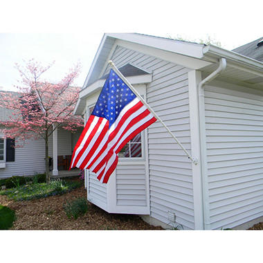 USA 3' x 5' Nylon Flag Kit