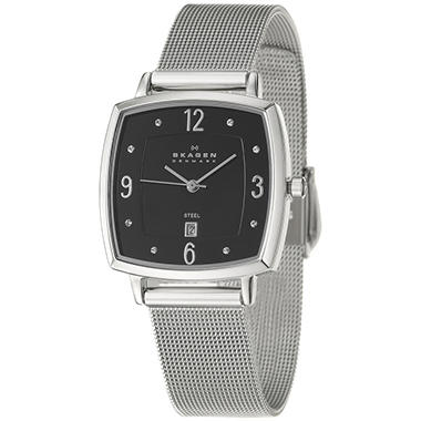 Skagen Women's Mesh Stainless Steel Quartz Watch